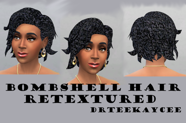 Sim Culture Nation: Bombshell hairstyle for Sims 4