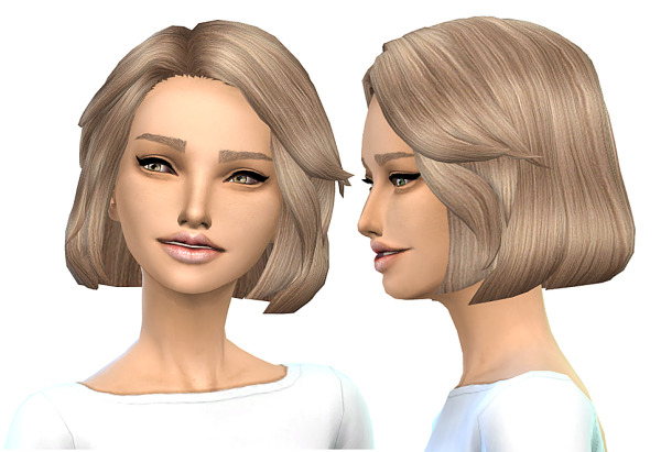 Miss Paraply: Hair retexture 45 colors for Sims 4