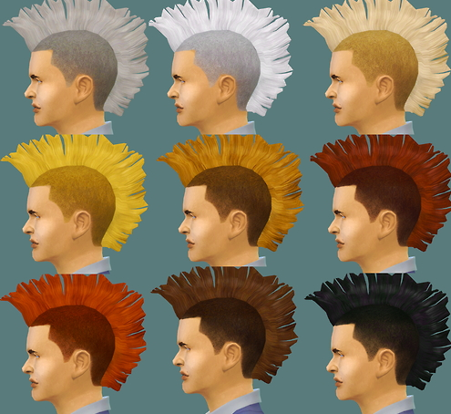 Chumcha: All colors hairstyle for Sims 4
