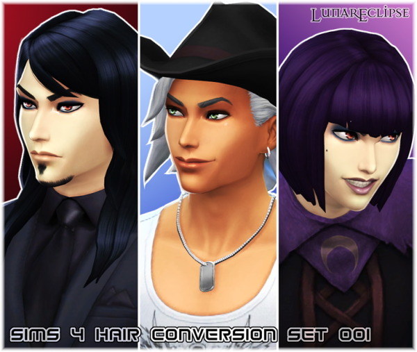 Eclipse Sims 4: Hai conversion set 001 for Sims 4