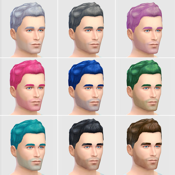 Lumia Lover Sims: Short Faux hairstyle (New Mesh) for Sims 4