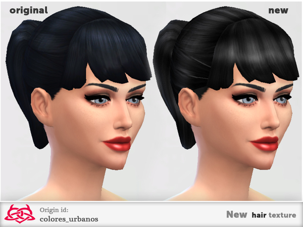 The Sims Resource: New hairstyle 03 by Colores Urbanos for Sims 4