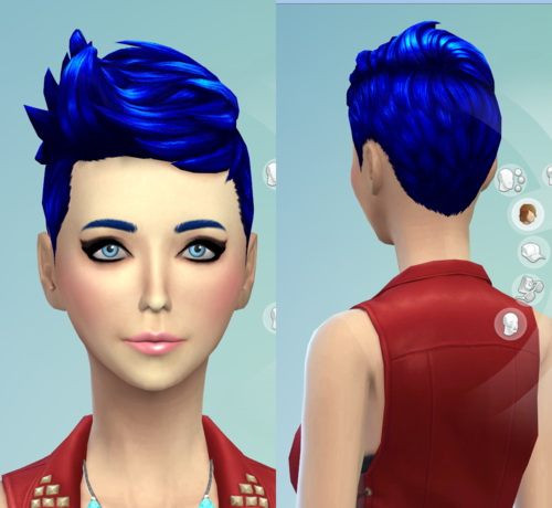 Darkiie Sims 4: 9 Non default Hairstyle for Sims 4