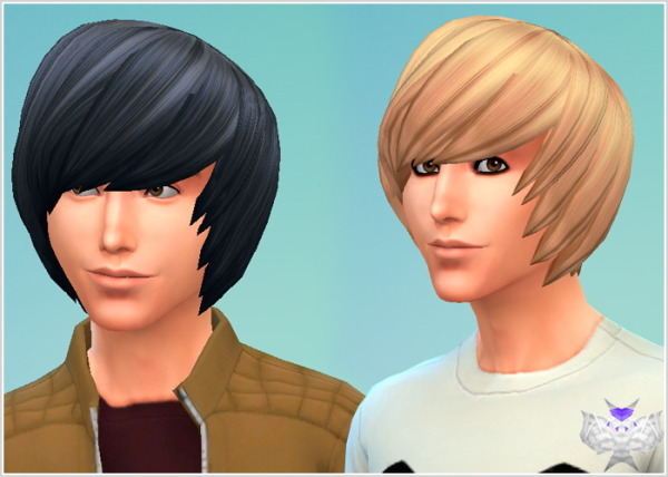 David Sims: Emo hairstyle for Sims 4