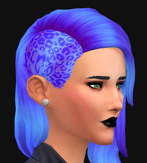 Simtanico: My first hairstyle retextures for Sims 4