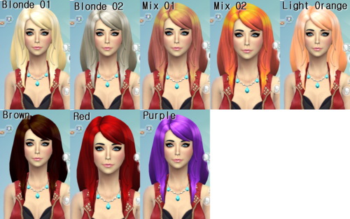 Darkiie Sims 4: 18 Non default Hairstyle for Sims 4