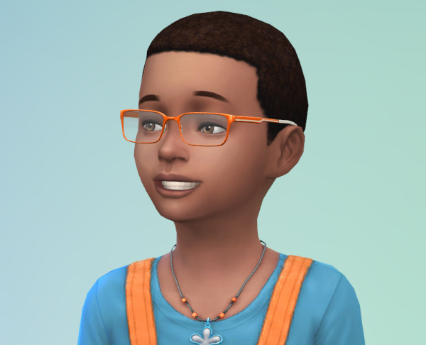 Sims 4 Dub: Short afro hairstyle for Sims 4