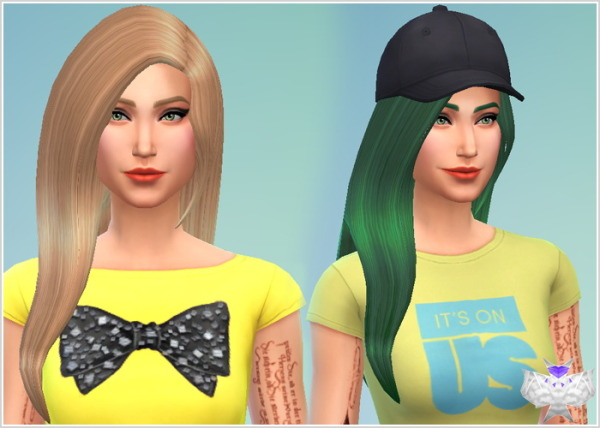 David Sims: Star Hairstyle for Sims 4
