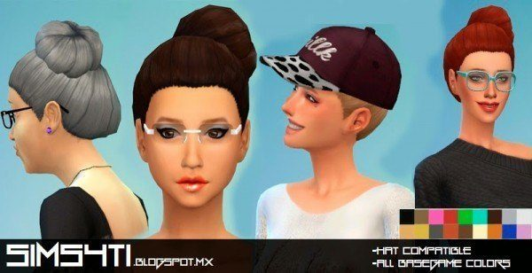 Sims4Ti: Casual Hairstyle for Sims 4