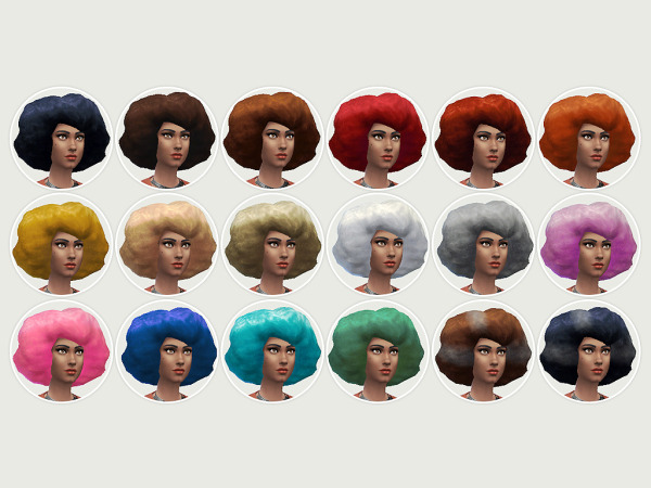 Lumia Lover Sims: The Kwanza 'Fro hairstyle for Sims 4
