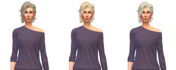 Busted Pixels: Bombshell hairstyle recolors for Sims 4