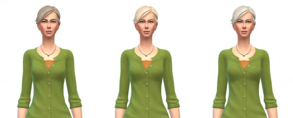 Busted Pixels: Braid fishtail hairstyle for Sims 4
