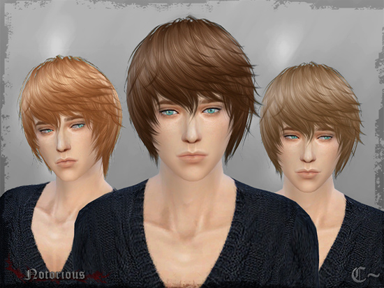 SimsSticle: Cazy`s hairstyle for Sims 4