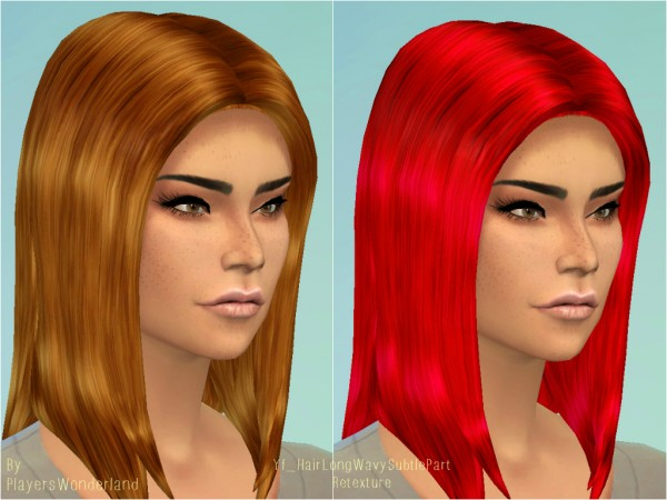 Welcome To The Jungle: Basegame hairstyle retextures for Sims 4