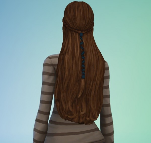 S3sage: TSM hairstyle converted for Sims 4