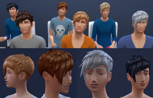 Mod The Sims: Ordinary Recolor For Both Genders Teen Elder by oepu for Sims 4