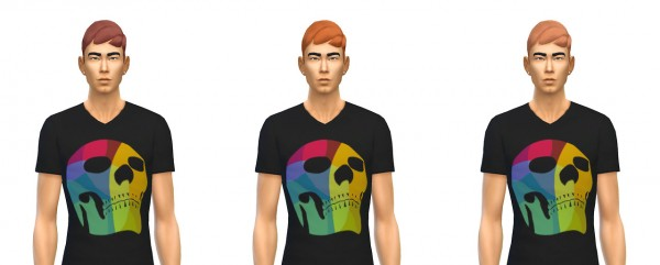 Busted Pixels: Dreamy Crew hairstyle for Sims 4
