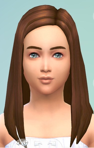 Mod The Sims: A Better Brown   New Hairstyle Shade by kellyhb5 for Sims 4