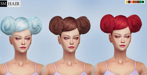 Simmaniacos: Kiroko Hairstyle for Sims 4