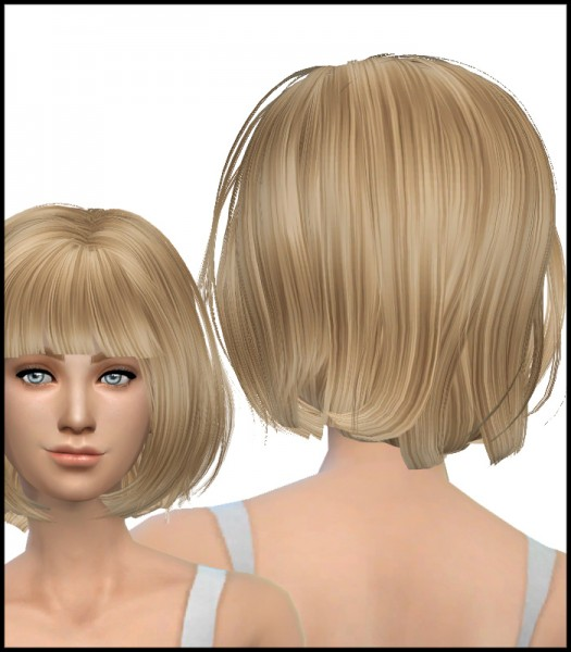 Simista: Newsea Physical Hairstyle Converted for Sims 4