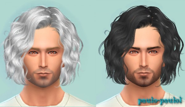 Paulo Paulo: Newsea`s J101 Foam Summer hairstyle for Sims 4