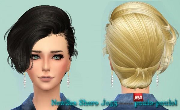 Paulo Paulo: NewSea`s Shero J055 hairstyle for Sims 4