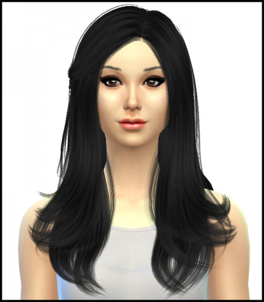 Simista: Cazy's Starlight Hairstyle Retextured for Sims 4