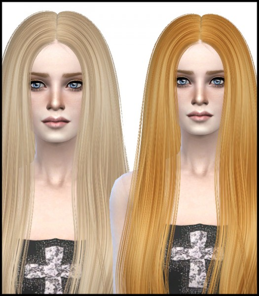David Sims: David Sims Radiate hairstyle retextured for Sims 4