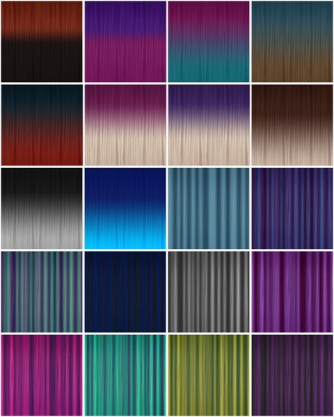 Jenni Sims: Hair textures for TS 4 for Sims 4