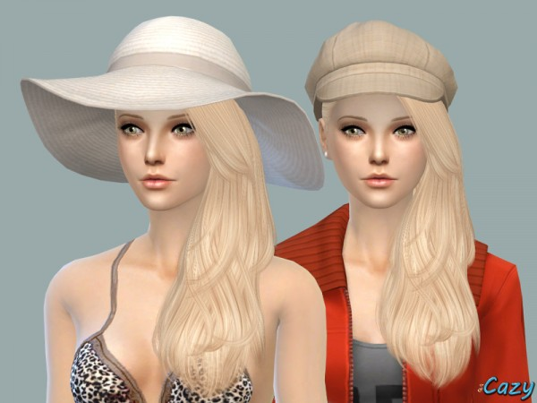 The Sims Resource: Last Call Hairstyle by Cazy for Sims 4