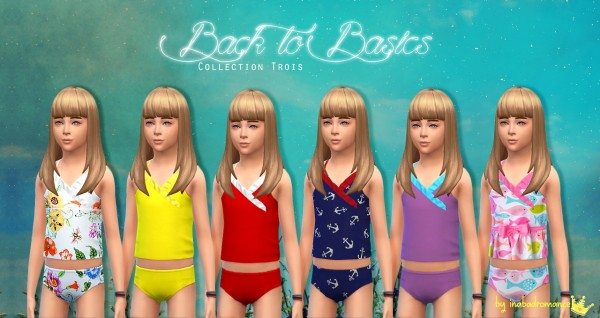 In A Bad Romance: Back to basics hairstyle for kids for Sims 4