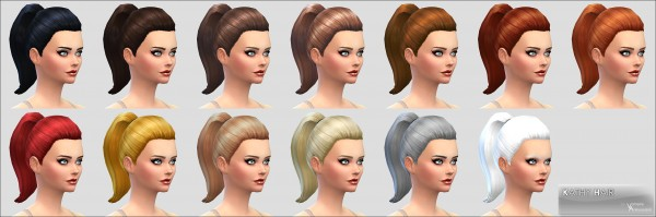 Mod The Sims: Kathy Hairstyle by Vampire aninyosaloh for Sims 4