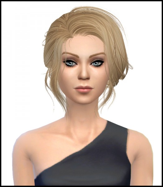 Simista: Newsea`s Starlet Converted Stealthic hairstyle retexture for Sims 4