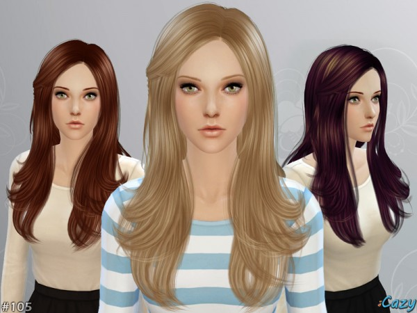 The Sims Resource: Starlight hairstyle by Cazy for Sims 4