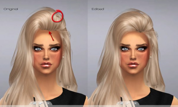 Puccamichi: RaonJena Hairstyle 36 Converted for Sims 4