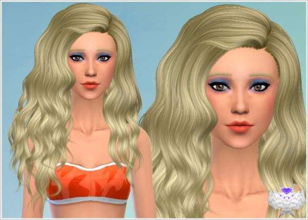 David Sims: Conversion hairstyle set 5 for Sims 4