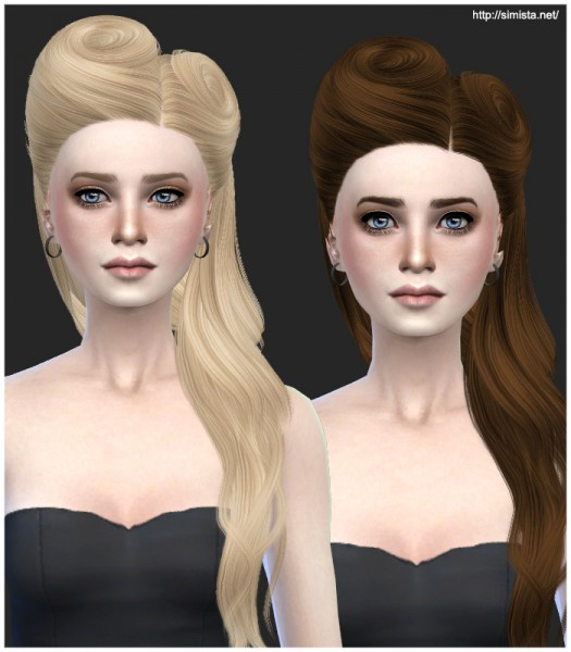 Simista: David Hairstyle 21 Retextured for Sims 4