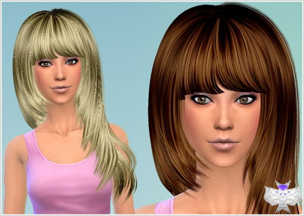 David Sims: Hairstyle Conversion Set 4 for Sims 4
