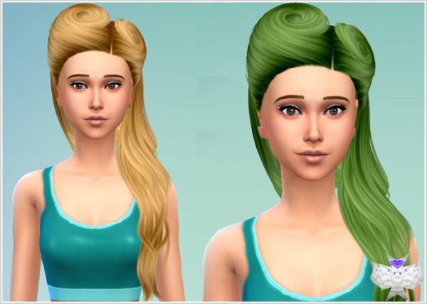 David Sims: Conversion hairstyles set 2 for Sims 4