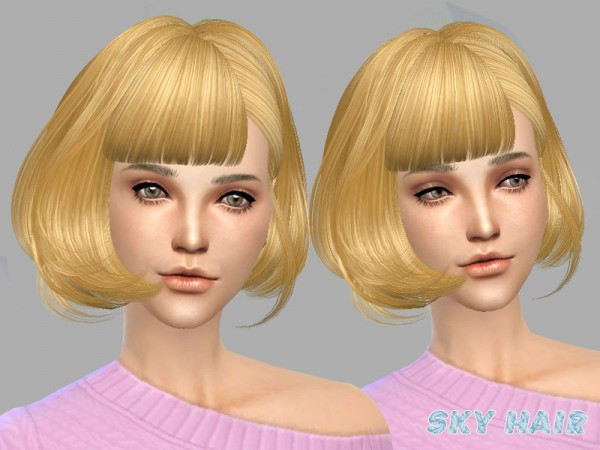 The Sims Resource: Hairstyle 249 by Skysims for Sims 4