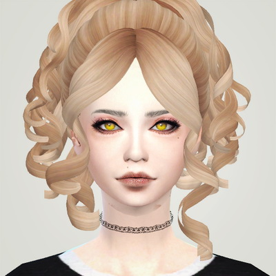 Liahxsimblr: Alexandrasine Curved Bob, Decayclown ME!ME!ME! and Skysims 245 hairstyle for Sims 4