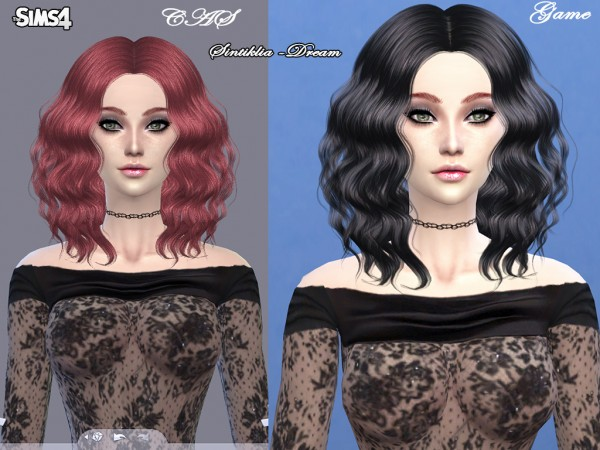 Sintiklia Sims: Hairstyle 06 Dream by Sintiklia for Sims 4