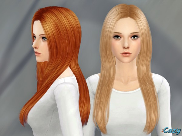 The Sims Resource: Over The Light Hairstyle by Cazy for Sims 4