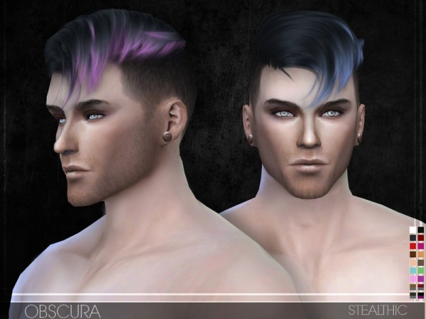 Stealthic: Obscura hairstyle for Sims 4