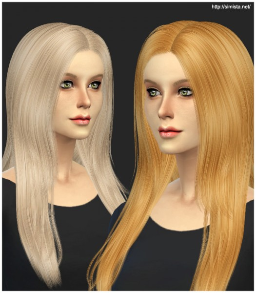 Simista: Cazy`s Over The Light Hairstyle Retexture for Sims 4