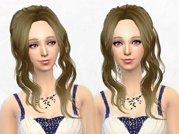 Sakura Phan: Newsea YU021 Sister hairstyle converted for Sims 4