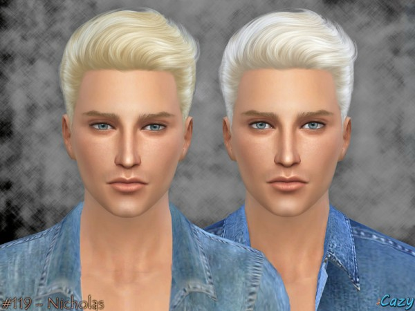 Cazycx tumblr: Nicholas Hairstyle for Sims 4