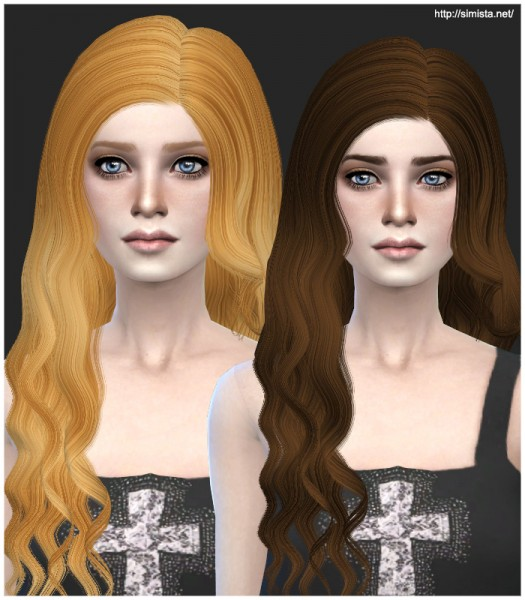 Simista: David Hourglass converted retextured hairstyle for Sims 4