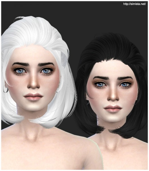 Simista: ELA Newsea`s Hairstyle 06 Retextured for Sims 4