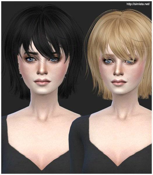 Simista: David Orange Nami hairstyle retexture for Sims 4